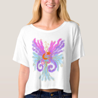 Starburst Abstract Wearable Art T Shirt