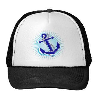 Starburst Anchor Trucker Hat