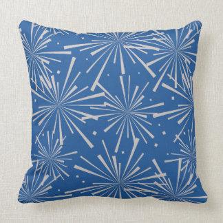 Starburst China Blue Cushion