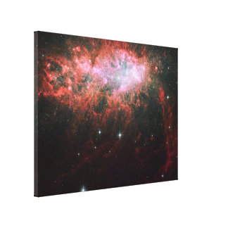 Starburst Galaxy Canvas Prints
