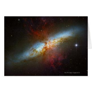 Starburst Galaxy M82 Card