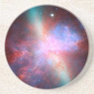 Starburst Galaxy M82 Drink Coasters