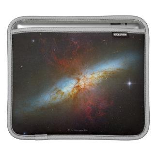 Starburst Galaxy M82 iPad Sleeve