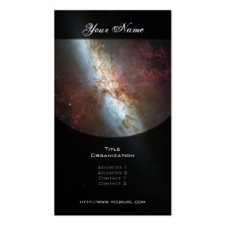 Starburst Galaxy M82 Pack Of Standard Business Cards