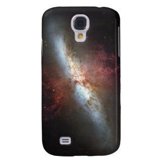 Starburst galaxy, Messier 82 Galaxy S4 Case