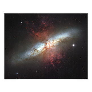 Starburst galaxy, Messier 82 Photo Art