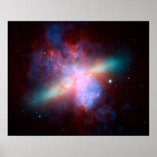 Starburst Galaxy Poster
