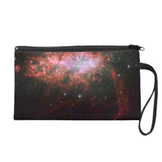 Starburst Galaxy Wristlet Clutch