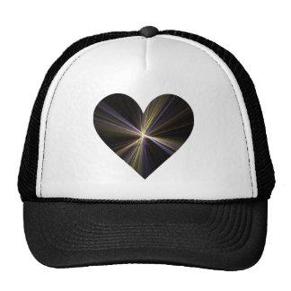 Starburst Heart Mesh Hat