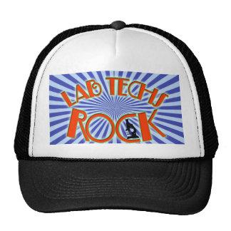 STARBURST LAB TECHS ROCK (LABORATORY SCIENTIST) CAP