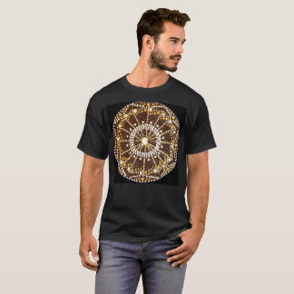 Starburst Mandala - Golden Chakra t-shirt