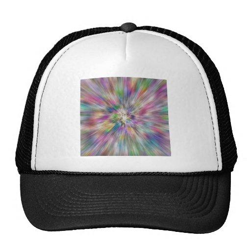Starburst of Color Mesh Hats