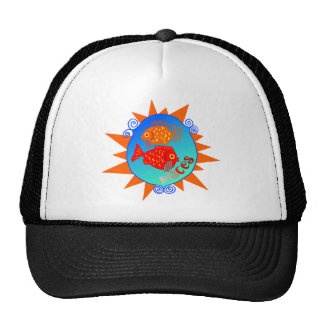 Starburst Pisces Hat