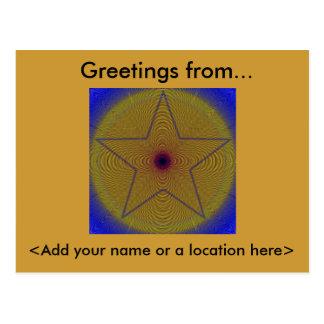 Starburst Postcard