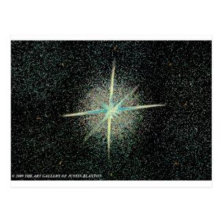 Starburst Post Card