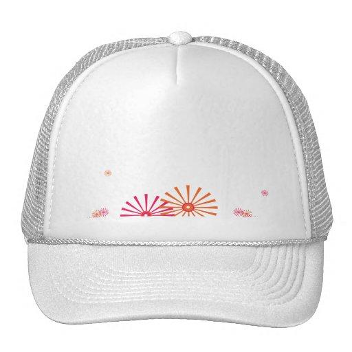 Starburst Retro with a Modern Twist Mesh Hats