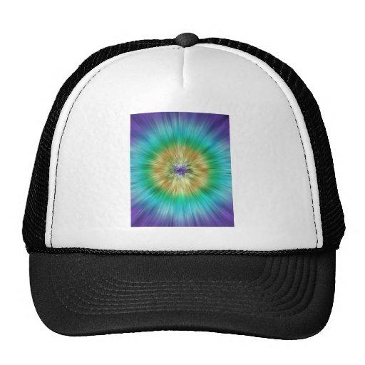 Starburst Tie Dye Mesh Hat