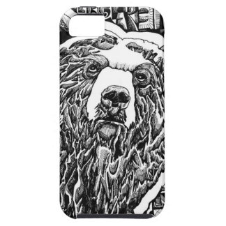 Stare Bear iPhone 5 Cover