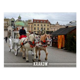 Stare Miasto, Krakow Poland Postcard
