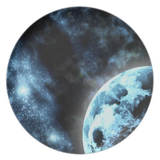 Starfield Party Plates