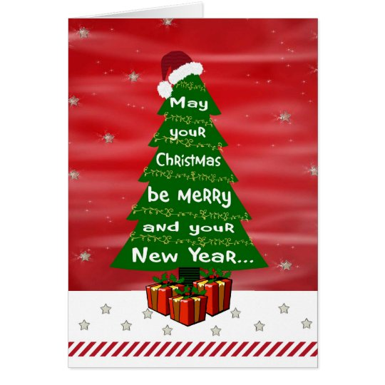 Starfilled Christmas Wish Greeting Card