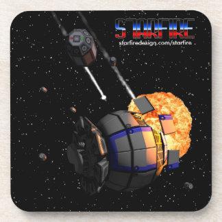 Starfire Coaster 6-pack: Code Omega
