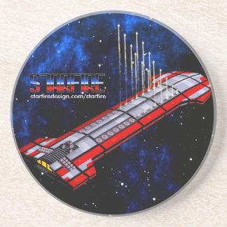 Starfire Coaster: TFN Crusier Strike! Beverage Coasters