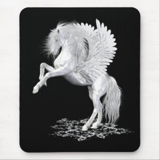 Starfire .. the winged horse mouse pad
