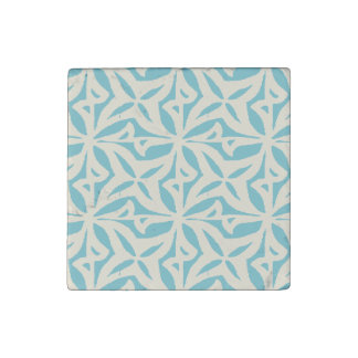Starfish Abstract Pattern Stone Magnet