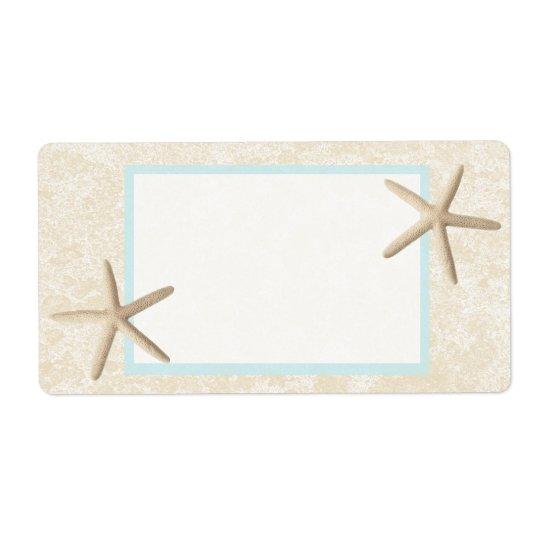 Starfish and Sand Design