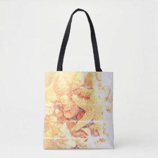 Starfish and Sea Shells - Tote Bag