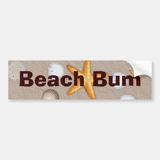 Starfish and Seashells Beach Theme Gifts Bumper Sticker