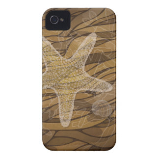 Starfish and seaweed Case-Mate iPhone 4 case