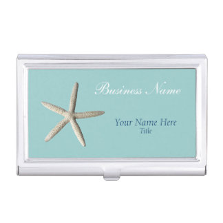Starfish Beach Business Card Holder