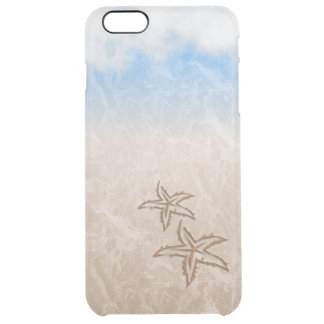 Starfish Beach Clear iPhone 6 Plus Case