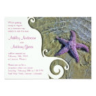 Starfish Beach Post Wedding Reception Only 2 Card