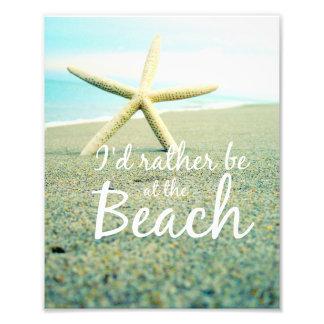 Starfish Beach Saying Photo