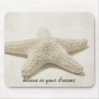 Starfish Believe Mouse Mat