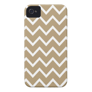 Starfish Brown Chevron Iphone 4S Case
