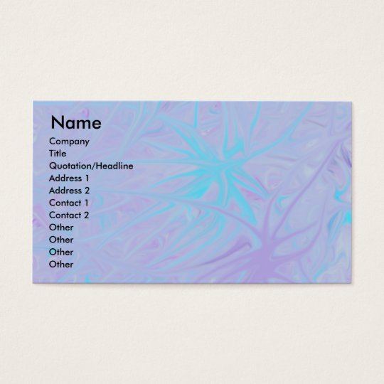 Starfish Business Card