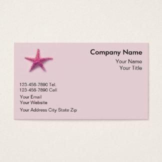 Starfish Business Cards