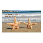 Starfish Couple on the Beach Place Cards