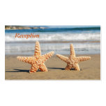 Starfish Couple on the Beach Wedding Reception