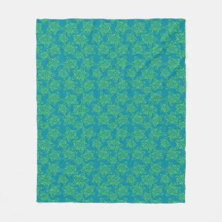 Starfish Crowd Pattern Fleece Blanket