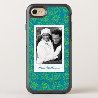 Starfish Crowd Pattern | Your Photo & Name OtterBox Symmetry iPhone 8/7 Case