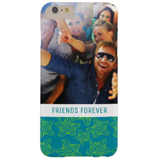 Starfish Crowd Pattern | Your Photo & Text Barely There iPhone 6 Plus Case