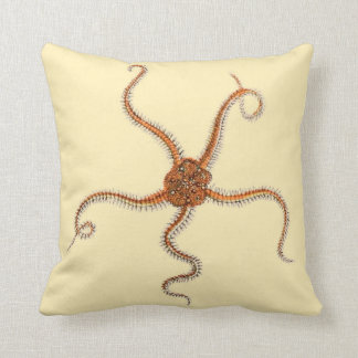 Starfish Design Accent Pillow Coastal Living Decor