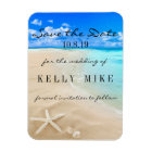Starfish Destination Wedding Save the Date Magnet