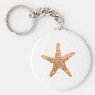 starfish fun key ring