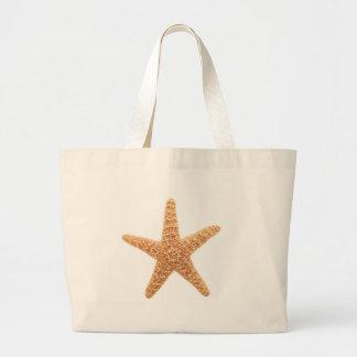 starfish fun large tote bag